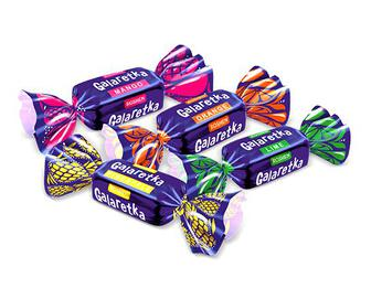 Цукерки Roshen Galaretka шоколадні, кг