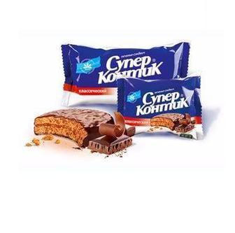 ПЕЧИВО з кокосом, шоколадний смак, 100 г КОНТІ