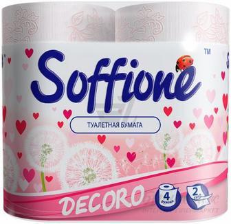 Папір туалетний Soffionte