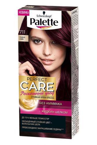 Краска для волос Palette Perfect Care тон 711 Сладкая слива