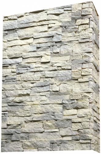 Плитка бетонна кутова Живий камінь Американа 10 1.05 пог.м