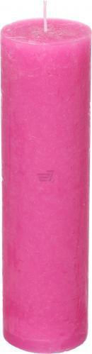 Свічка Рустік циліндр фуксия 5,5x20 см Фітор