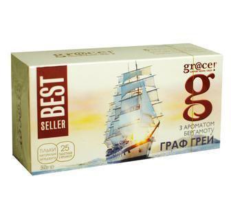 Чай черный «Граф Грей», Grace, 25 пак