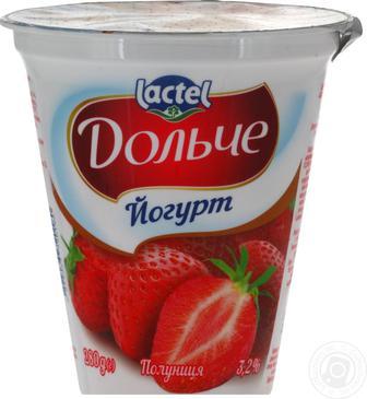 Йогурт 3,2% Дольче 280г