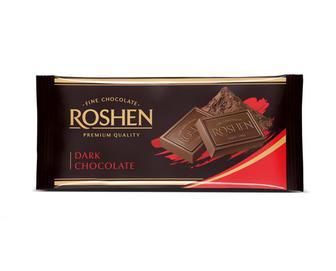 Шоколад Roshen екстрачорний, 90 г