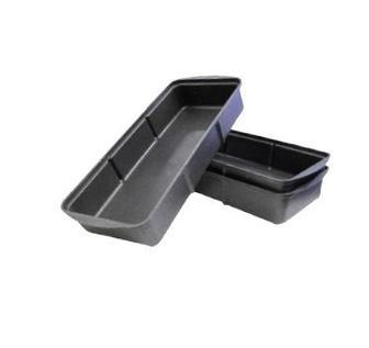 Лоток для розсади пластик, чорний 33х15х6 см