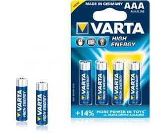 Батарейка  Energy AA BLI 4 та AAА BLI 4  Varta