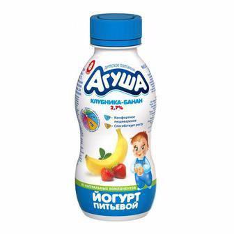 Йогурт Агуша   2,7% 200 г