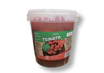 Помідори солоні червоні п/відро, Своя лінія 1 кг/600 г