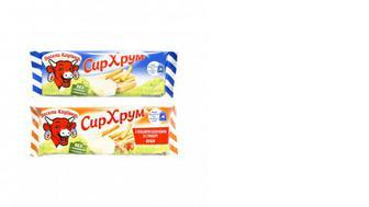 Сир плавлений з хлібними паличками, Весела Корівка, 35г