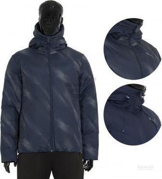 Спортивна куртка Puma STYLE Reverse Hd Padded Jkt р. M синій 83865646