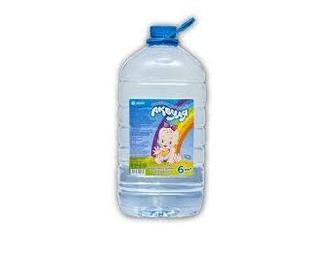 Вода питна дитяча негазована 6л Аквуля