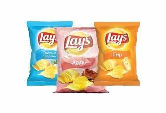 Скидка 23% ▷ Чіпси картопляні Lay's 120/133г