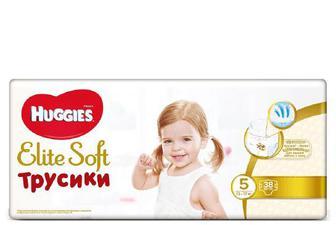 Підгузки-трусики Huggies Elite Soft 5 (13-17 кг) 38 шт./уп