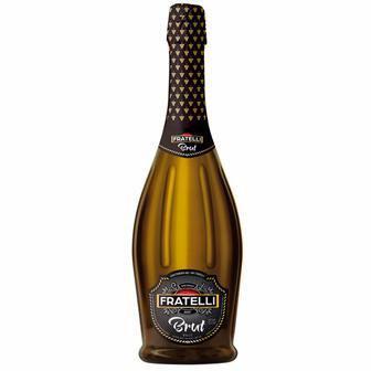 Вино ігристе біле Sweet або Brut Fratelli 0,75 л