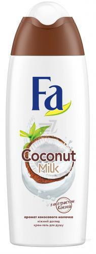 Гель для душу Fa Coconut Milk 250 мл