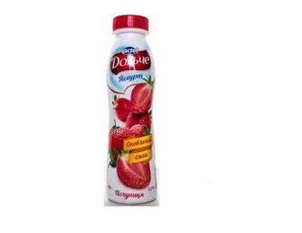 Йогурт Полуниця 2,5% Дольче 500 г