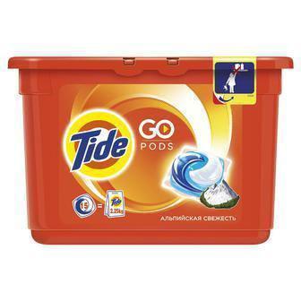 Капсулы для стирки Tide, 12 шт