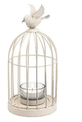 Ліхтар VAGN д.10см в.22см з пташкою