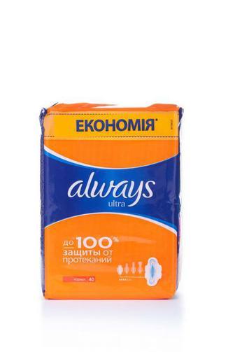 Прокладки для критических дней Always ultra normal quatro, 36шт