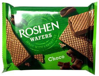 Вафлі Wafers Roshen шоколад 72 г