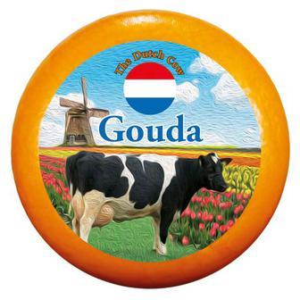 Сир Гауда 48% Dutch Cow Нідерланди ваг