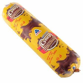 Морозиво Супер Шоколад Рудь 500г