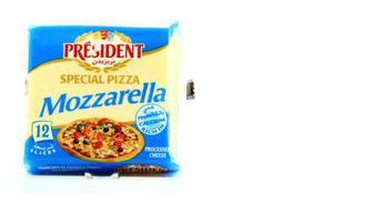 Сыр плавленый 40% Моцарелла для пиццы, PRESIDENT, 200г