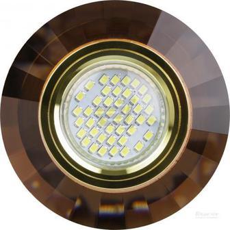 Світильник точковий Blitz MR16 GDT G5.3 коричневий BL4183 MR16 GDT