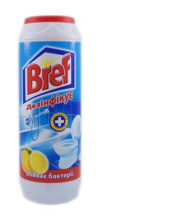 Засіб чистячий Bref Лимон хлор, 500 г