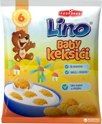Детское печенье Lino