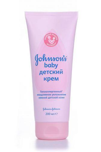 Крем Johnson's Baby дитячий рожевий 200 мл