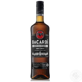 Ром 40% Bacardi Carta Negra, 0,7 л