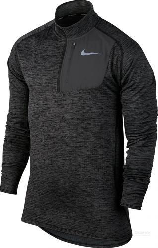 Джемпер Nike Therma Sphere Element M NK THRMA SPHR ELMNT TOP HZ р. L чорний 857829-010