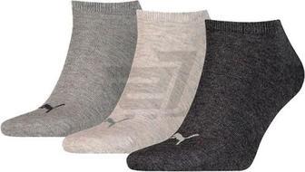 Шкарпетки Puma UNISEX SNEAKER PLAIN 3P 90680714 р. 35-38 чорний