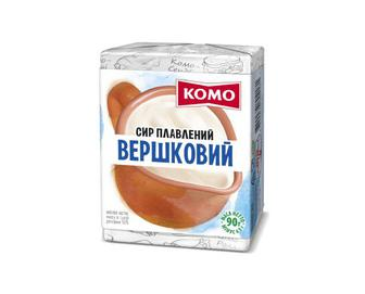 Сир плавлений «Комо» вершковий 55% жиру, 90г