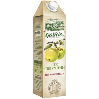 Скидка 31% ▷ Сік Galicia Яблучний 1л