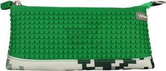 Пенал Camouflage Upixel зелений