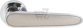 Скидка 15% ▷ Ручка на розетці RDA Idea хром/сатиновий нікель