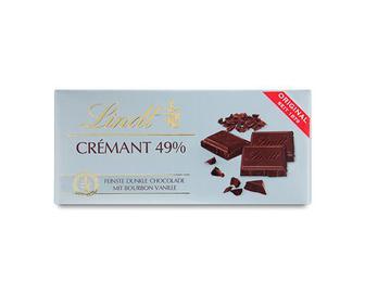 Шоколад Lindt гіркий 49%, 100г