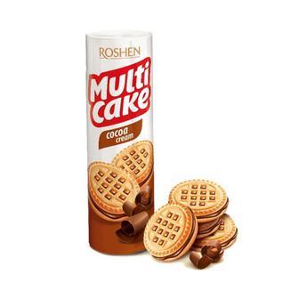 Печенье фан и криспи какао Мульти-Кейк Рошен 135 г