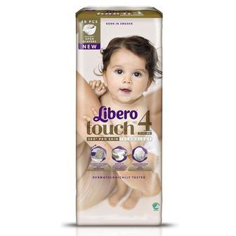 Підгузки Libero Touch Розмір 4 (7-11 КГ) 48 шт