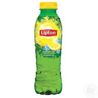 Напій безалкогольний Холодний чай Ліптон 0,5л
