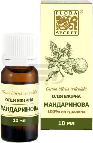 Ефірна олія Мандаринова Flora Secret