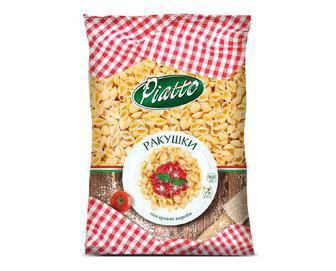 Вироби макаронні Piatto Ракушки 900 г