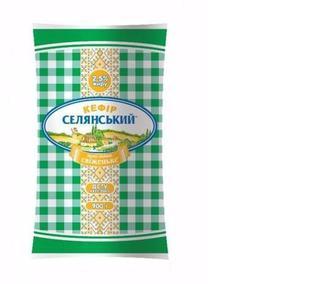 Кефір 2,5%, Селянське, 900г