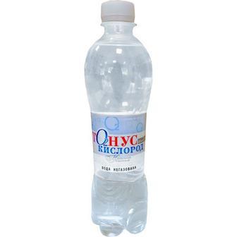 Вода мінеральна Тонус-кислород 0,5л Куяльник
