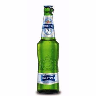 Пиво No7 Балтика 0,5 л