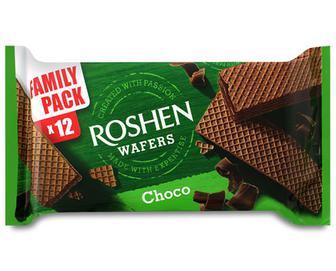 Вафлі Roshen Wafers шоколад, 216г