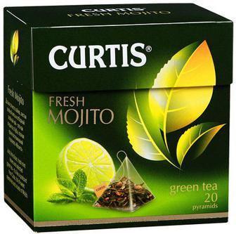 Чай зеленый Фреш Мохито, фруктово-травяной Самер Берис Кьортис 34 (20*1,7 г